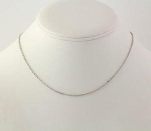 Cable Chain Necklace - 16 Womens Fashion Spring Ring Clasp Polished