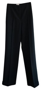 Max Mara Wide Legs & Co Wide Leg Pants Black