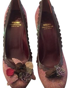 Moschino Maroon Pumps