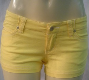 Younique Clothing Mini/Short Shorts Yellow