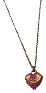 Juicy Couture Juicy Couture Heart Pave Necklace