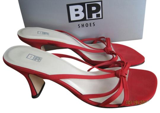 BP. Clothing Red Sandals