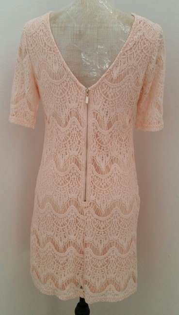 Forever 21 Lace Short Sleeve Dress