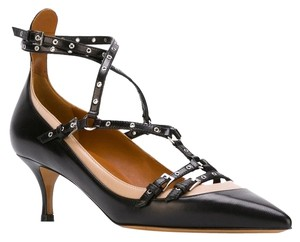 Valentino Rockstud Love Latch Rockstud Love Latch Kitten Heels Black 39(EU) NIB Pumps