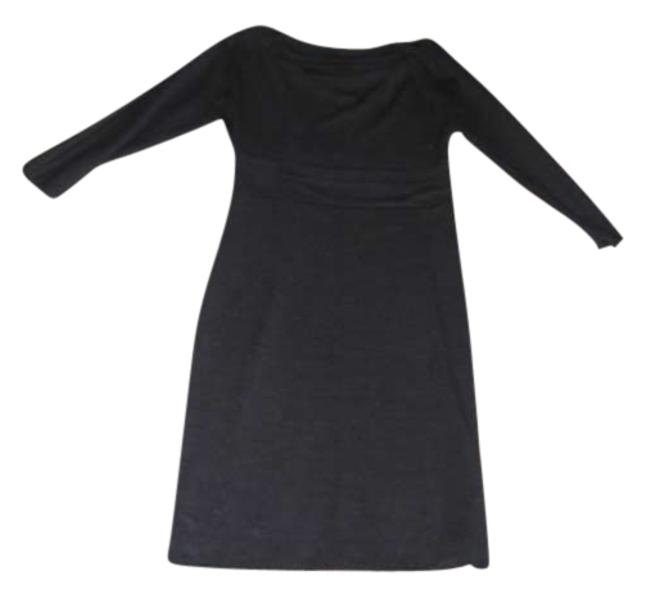 Preload https://item2.tradesy.com/images/ann-taylor-gray-knee-length-workoffice-dress-size-petite-4-s-135591-0-0.jpg?width=400&height=650
