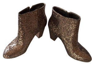 BCBGeneration Bronze Party Glitter Boots