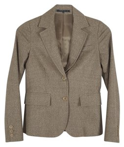 Theory 2 Button beige Blazer