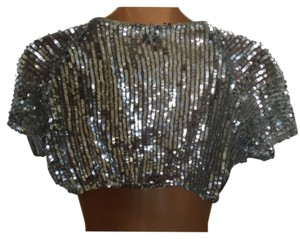 Flashback Couture Top Silver