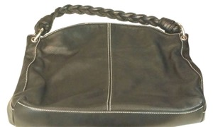 Lauren Ralph Lauren Leather Leather Shoulder Bag