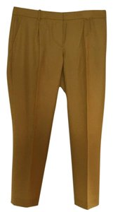 J.Crew Straight Pants Gold