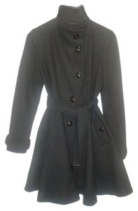 ASOS Petite Wool Military Button Flared Coat