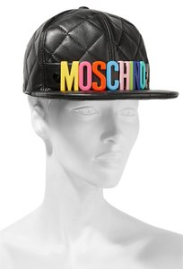 Moschino Quilted leather cap ( S )