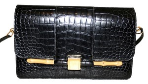 Hermès Vintage Crocodile Alligator Shoulder Bag
