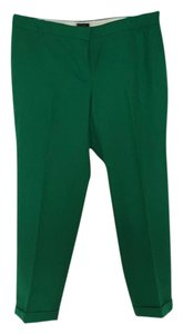 J.Crew Capri/Cropped Pants Kelly Green