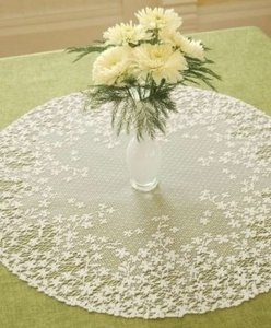 White Doilies -- 8 Runners 16 Rounds Tableware