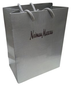 Neiman Marcus New Silver Neiman Marcus shopping bag