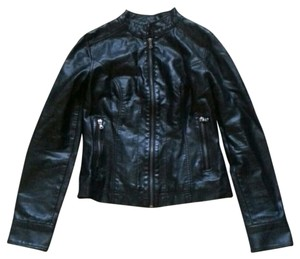 Black Rivet Motorcycle Jacket