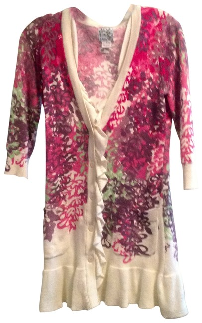 Preload https://item1.tradesy.com/images/anthropologie-multi-floral-light-button-up-cardigan-size-4-s-135615-0-0.jpg?width=400&height=650