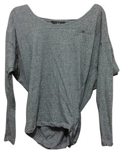 Jack by BB Dakota Dolman Sleve Dolman Top Heather-grey