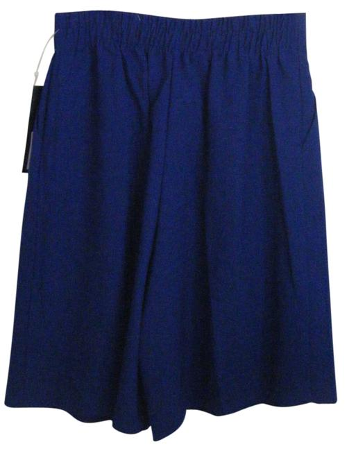 Preload https://img-static.tradesy.com/item/1356313/navy-blue-dlb-pleat-front-poly-rayon-blend-9-inseam-bermuda-shorts-size-12-l-32-33-0-0-650-650.jpg