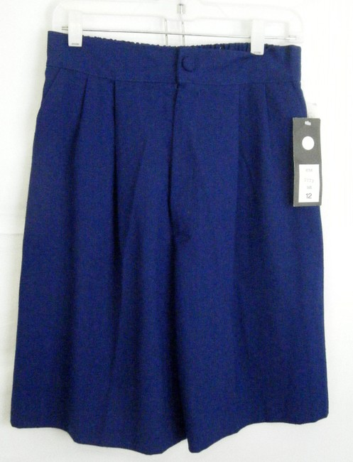 ELLEN FIG Bermuda Shorts NAVY BLUE