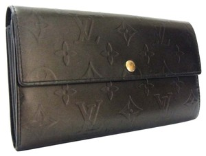 Louis Vuitton Louis Vuitton Monogram Mat Leather Long Wallet