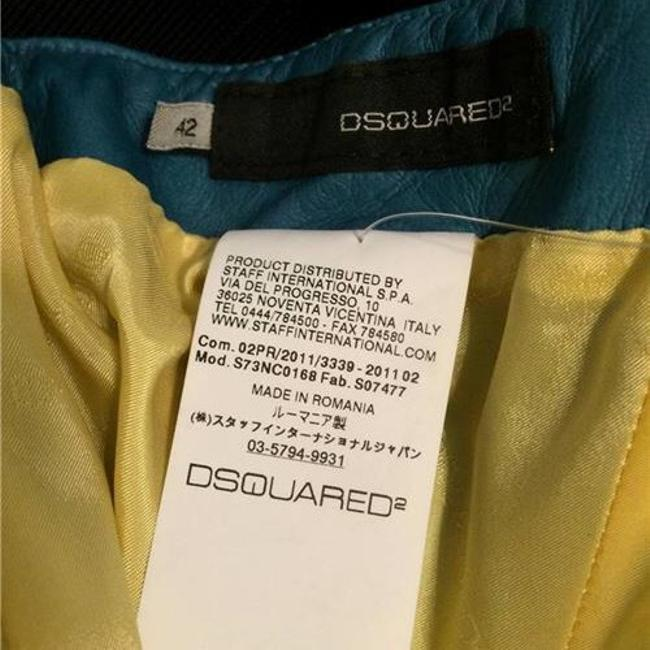 DSquared Leather Top Teal Image 6