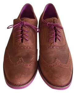 Cole Haan Brown and pink Flats