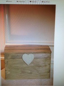 Rustic Card Box