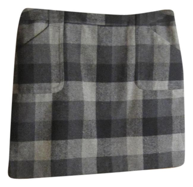 Liz Claiborne Mini Skirt Black and grey