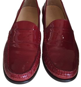 Cole Haan Patent Leather Red AND shiney! Flats