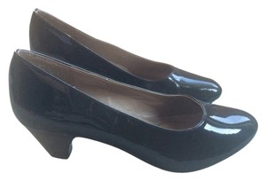 Hush Puppies Comfo Kitte Black Pumps