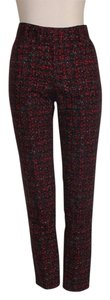 Nanette Lepore Floral Print Stretch Skinny Pants MULTICOLOR