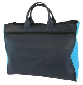 Bamin Duffel Gym Carry All Tote in Blue, Black