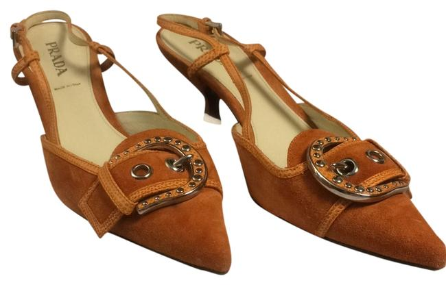 Item - Orange Calzature Donna Sandals Size US 9 Regular (M, B)
