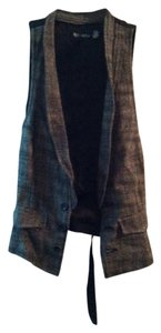 Urban Outfitters Herringbone Wool-blend Cotton Men's Wear Vest