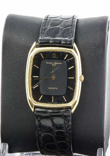 Baume & Mercier Vintage Baume Mercier 18k Gold Ladies Watch Image 7