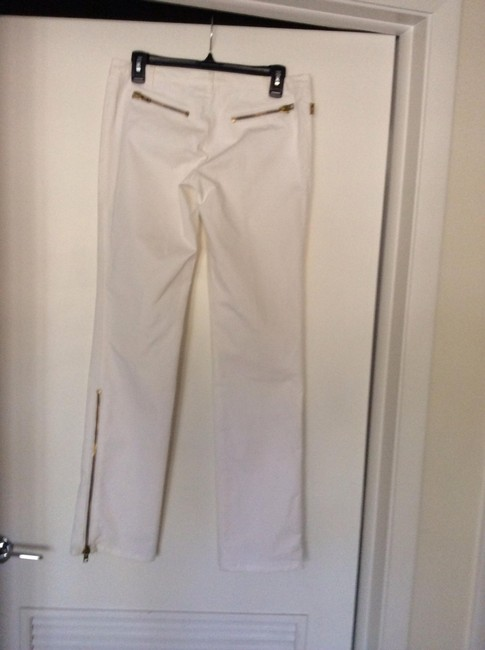 Moschino Straight Pants White