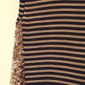 Rachel Roy short dress Navy stripes on Tradesy Image 2