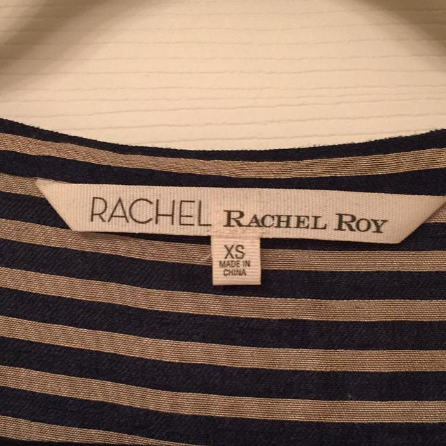 Rachel Roy short dress Navy stripes on Tradesy Image 3
