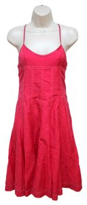 A|X Armani Exchange short dress Red/Coral on Tradesy