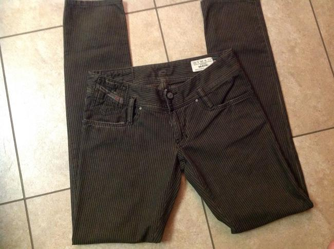 Diesel Never Worn Straight Leg Jeans-Distressed