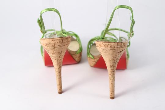 Christian Louboutin Green Sandals Image 2