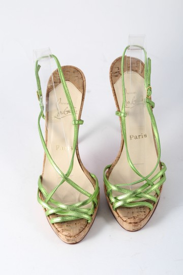 Christian Louboutin Green Sandals Image 3