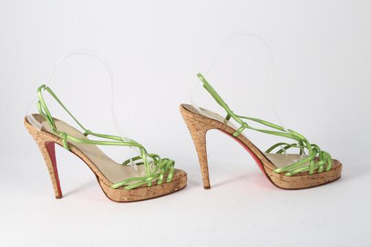 Christian Louboutin Green Sandals Image 4