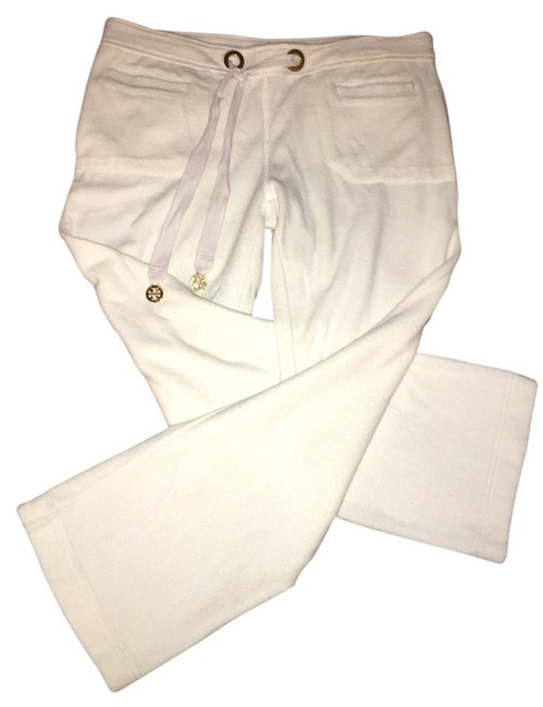 Item - White Terry Lounge Pants Size 4 (S, 27)
