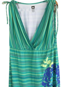 REI short dress Green and blue on Tradesy