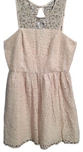 The Limited short dress Ivory Lace on Tradesy