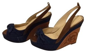 Isabella Fiore Denim Wedges