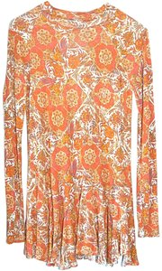 Free People Bohemian Paisley Casual Boho T Shirt